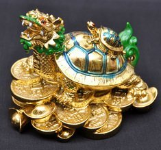fengshui dragon turtle